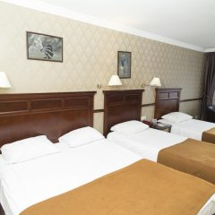 Topkapi Inter Istanbul Hotel 4* Стандартный семейный номер с двуспальной кроватью фото 11