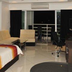 Отель Vtsix Condo Service at View Talay Condo Студия с различными типами кроватей фото 9