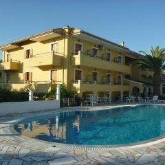 Отель Jovana Греция, Корфу - отзывы, цены и фото номеров - забронировать отель Jovana онлайн бассейн фото 3