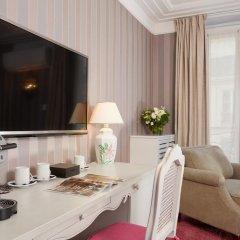 Отель Hôtel Louvre Montana 4* Стандартный номер с различными типами кроватей фото 4
