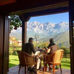 Отель Posada El Bosque балкон