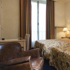 Отель Hôtel de Suez 2* Стандартный номер с различными типами кроватей фото 5