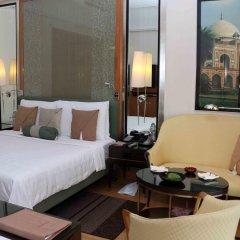 Отель Trident, Gurgaon 5* Номер Делюкс с двуспальной кроватью фото 3