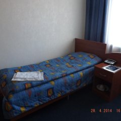 Гостиница Утес Номер Эконом с разными типами кроватей (общая ванная комната)