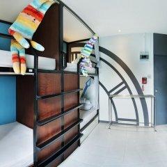 At nights Hostel Кровать в общем номере с двухъярусными кроватями фото 3