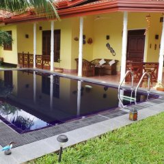 Отель Lanka Rose Guest House Шри-Ланка, Берувела - отзывы, цены и фото номеров - забронировать отель Lanka Rose Guest House онлайн бассейн фото 2
