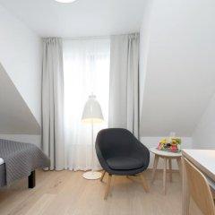 Отель Scandic Scandinavie 4* Номер Эконом с различными типами кроватей фото 4