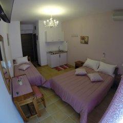 Akrotiri Hotel Студия с разными типами кроватей фото 11