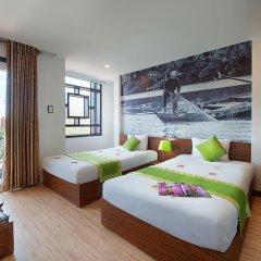 Vinh Hung 2 City Hotel 2* Улучшенный номер с двуспальной кроватью фото 4