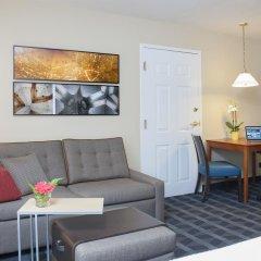 Отель TownePlace Suites by Marriott Indianapolis - Keystone Студия с различными типами кроватей