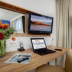 Отель Citadines Croisette Cannes 3* Студия с различными типами кроватей фото 4