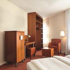 Hotel Hafen Hamburg 4* Стандартный номер двуспальная кровать фото 3