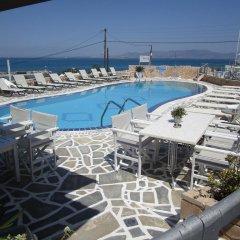 Hotel Milos бассейн фото 2