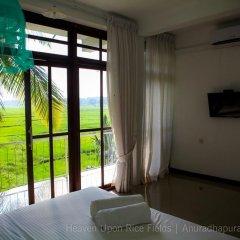 Отель Heaven Upon Rice Fields Шри-Ланка, Анурадхапура - отзывы, цены и фото номеров - забронировать отель Heaven Upon Rice Fields онлайн комната для гостей фото 3