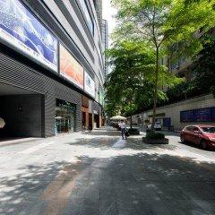 Апартаменты Shenzhen Wozhan Apartment K K Mall парковка