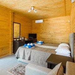 Гостиница Славянка 3* Коттедж с различными типами кроватей фото 8