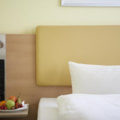Отель IntercityHotel Hamburg Hauptbahnhof Стандартный номер разные типы кроватей