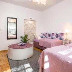Отель Anastasia Suites Zagreb 4* Улучшенный люкс с различными типами кроватей фото 5