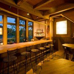 Отель Hanareyado Yamasaki Минамиогуни гостиничный бар