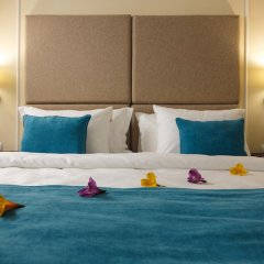 Гостиница Голубая Лагуна Улучшенный номер двуспальная кровать фото 3