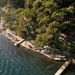 Отель Club Nimara Beach Resort Otel - All Inclusive Мармарис приотельная территория фото 2