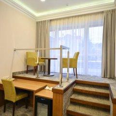Альфа Отель 4* Стандартный номер с двуспальной кроватью фото 13