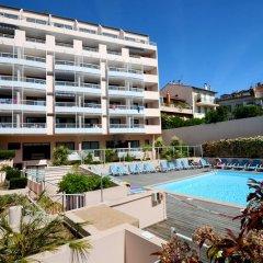 Отель Odalys - Appart'Hotel Les Félibriges Франция, Канны - отзывы, цены и фото номеров - забронировать отель Odalys - Appart'Hotel Les Félibriges онлайн бассейн