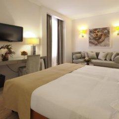 Отель Starhotels Michelangelo 4* Улучшенный номер с различными типами кроватей фото 22