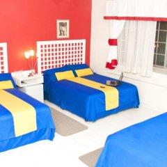 Отель Guacamaya Inn B&B Сан-Педро-Сула комната для гостей фото 3