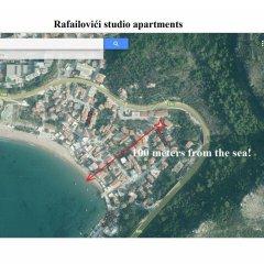 Апартаменты Apartments Rafailovici спортивное сооружение