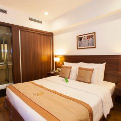 Authentic Hanoi Boutique Hotel 4* Улучшенный номер с различными типами кроватей фото 6