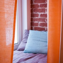 Волхонка хостел Кровать в общем номере с двухъярусными кроватями фото 5