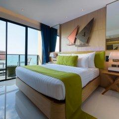 Отель Deep Blue Z10 Pattaya Стандартный номер с различными типами кроватей фото 29