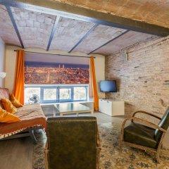 Отель Flateli Jaume Fabra Испания, Барселона - отзывы, цены и фото номеров - забронировать отель Flateli Jaume Fabra онлайн интерьер отеля