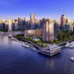 Отель The Westin Bayshore Vancouver Канада, Ванкувер - отзывы, цены и фото номеров - забронировать отель The Westin Bayshore Vancouver онлайн приотельная территория фото 2