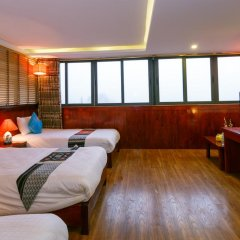 Fansipan View Hotel 3* Люкс с различными типами кроватей фото 11