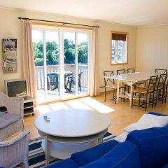 Отель Tregde Ferie Апартаменты с различными типами кроватей фото 8