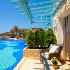 Asfiya Sea View Hotel Турция, Киник - отзывы, цены и фото номеров - забронировать отель Asfiya Sea View Hotel онлайн балкон фото 3