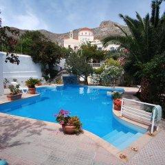 Отель Villa Melina Греция, Калимнос - отзывы, цены и фото номеров - забронировать отель Villa Melina онлайн бассейн фото 3