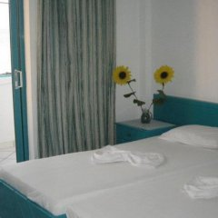 Отель Angela Thalia Apartments Греция, Калимнос - отзывы, цены и фото номеров - забронировать отель Angela Thalia Apartments онлайн комната для гостей фото 2