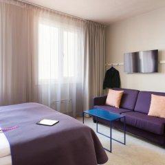 Отель Scandic Karl Johan 3* Улучшенный номер с различными типами кроватей фото 8