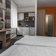Отель Townhouse Düsseldorf 3* Стандартный номер с двуспальной кроватью фото 11