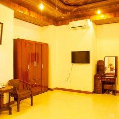 Отель Hoa Mau Don Homestay Улучшенный номер с различными типами кроватей фото 4