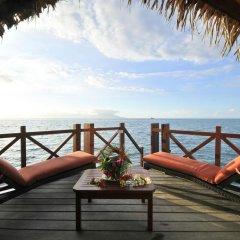 Отель InterContinental Resort Tahiti 4* Бунгало с различными типами кроватей фото 5