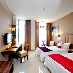 Grand Howard Hotel 4* Улучшенный номер с различными типами кроватей фото 2