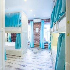 Волхонка хостел Кровать в мужском общем номере с двухъярусными кроватями фото 4