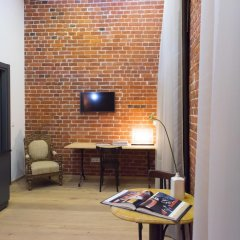 Дизайн-отель Brick 4* Люкс с различными типами кроватей фото 16
