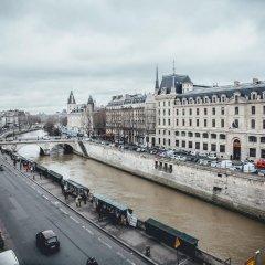 Отель Hôtel Le Notre Dame Saint Michel Франция, Париж - отзывы, цены и фото номеров - забронировать отель Hôtel Le Notre Dame Saint Michel онлайн балкон