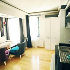 Отель Taksim Martina Apart Апартаменты с различными типами кроватей фото 19