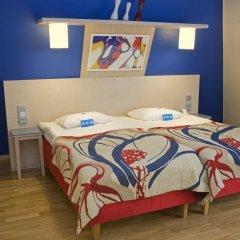 Отель Cumulus Hakaniemi 3* Стандартный номер с различными типами кроватей фото 4